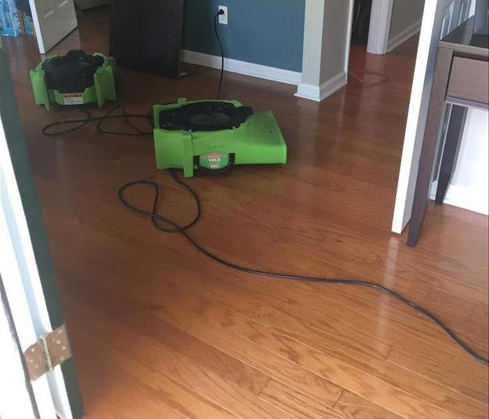 Wood Floors Saved by SERVPRO After