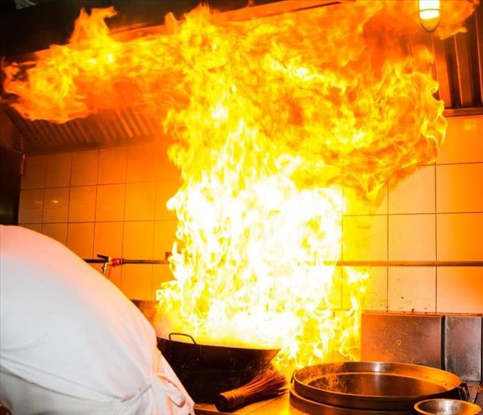 Fire Damage Cooking Safely With Oil and Grease